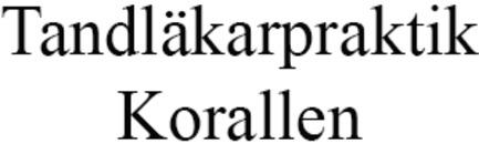 Tandläkarpraktik Korallen, Vårdcentralen Korallen logo
