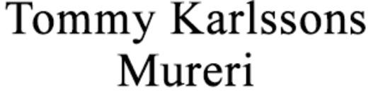 Tommy Karlssons Mureri logo
