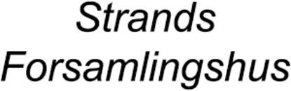 Strands Forsamlingshus logo