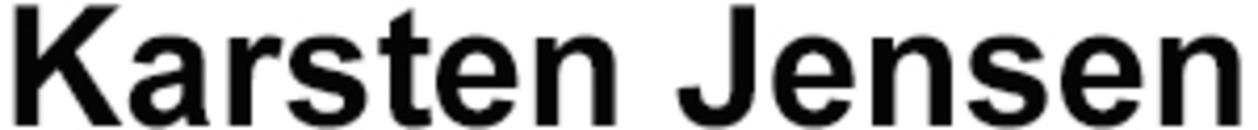 Karsten Jensen logo