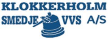 Klokkerholm Smedje & VVS A/S logo