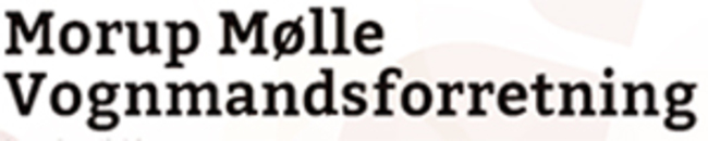 Morup Mølle Vognmandsforretning logo