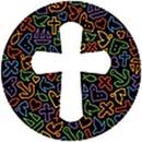 Nykøbing F. Sogns Adm. logo