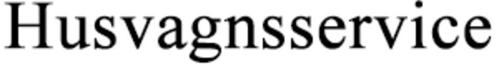 Husvagnsservice logo