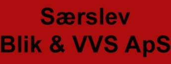 Særslev Blik & VVS logo