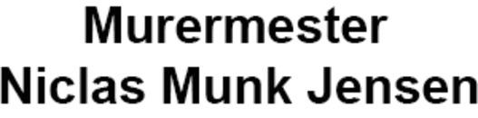 Murermester Niclas Munk Jensen logo