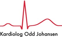 Odd Johansen Hjertespesialist logo