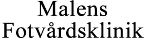 Malens Fotvårdsklinik logo