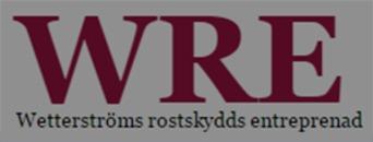 Wetterström Rostskydds Entreprenad AB logo