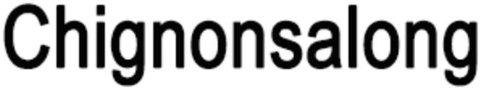 Chignonsalong logo