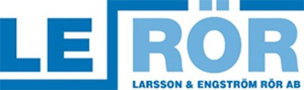 LE Rör AB: Larsson & Engströms Rör AB logo