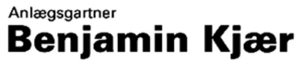 Anlægsgartner Benjamin Kjær logo
