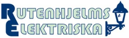 Rutenhjelms Elektriska logo