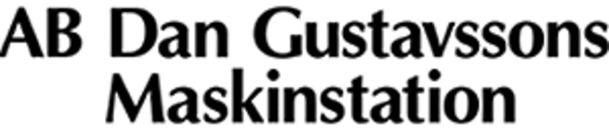 Dan Gustavssons Maskinstation, AB logo