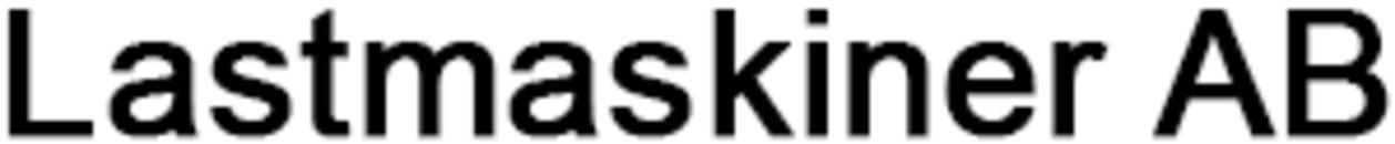 Lastmaskiner, AB logo