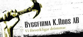Byggfirma K. Roos logo