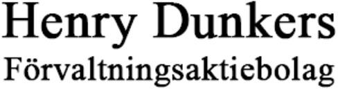 Henry Dunkers Förvaltningsaktiebolag logo
