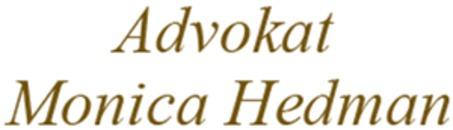 Advokat Monica Hedman logo