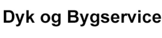 Dyk og Bygservice logo