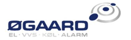Øgaard A/S logo
