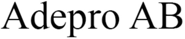 Adepro AB logo