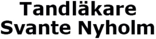 Tandläkare Svante Nyholm logo
