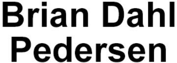 Murermester B. Pedersen logo