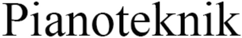 Pianoteknik logo