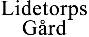 Lidetorps Gård logo
