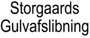 Storgaards Gulvafslibning logo