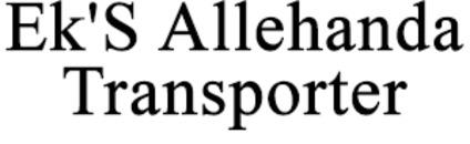 Ek'S Allehanda Transporter logo