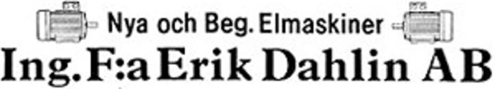 Dahlin AB, Ingenjörsfirma Erik logo