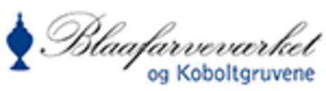 Turistinformasjon Modums Blaafarveværk logo