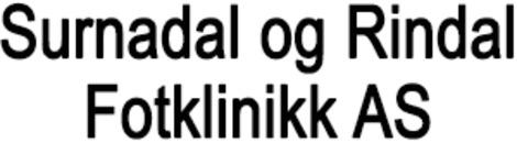 Surnadal og Rindal Fotklinikk AS logo