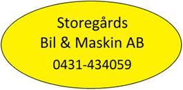 Storegårds Bil & Maskin AB logo