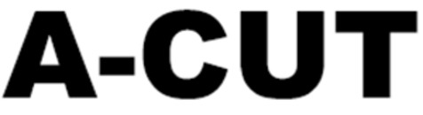 A-cut logo