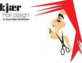 Kjær Hair Design logo