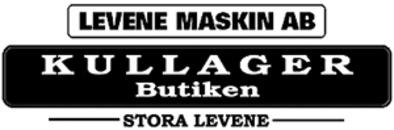 Levene Maskin - Kullagerbutiken logo