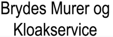 Brydes Murer og Kloakservice logo