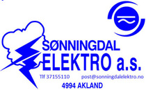 Sønningdal Elektro AS logo