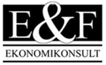 E & F Ekonomikonsult AB logo