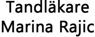 Tandläkare Marina Rajic logo