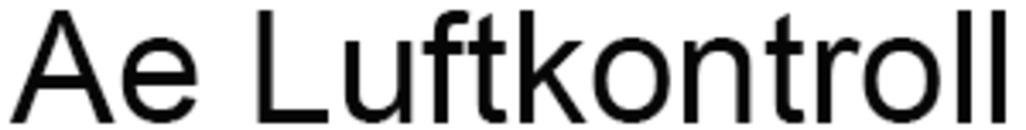 Ae Luftkontroll logo