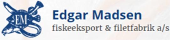 Edgar Madsen Fiskeeksport & filetfabrik A/S logo