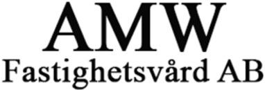 AMW Fastighetsvård AB logo