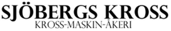 Sjöbergs Maskin I Ljungsbro AB/Sjöbergs kross AB logo