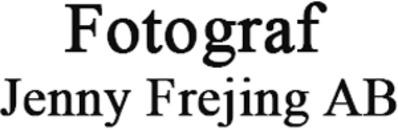 Fotograf Jenny Frejing AB logo