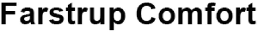 Farstrup Comfort logo