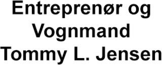 Entreprenør og Vognmand Tommy L. Jensen logo