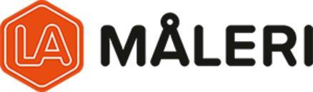 L-A Måleri AB logo